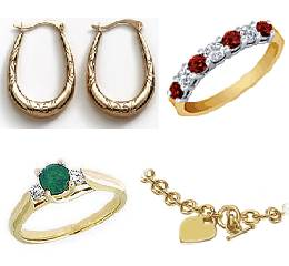 9ct/18ct Gold Diamond & Ster Silver Clearance Lot (Grade A) £1869.11 RRP @ 29%