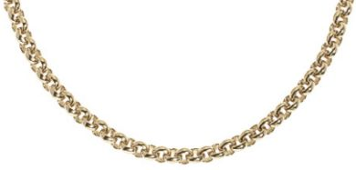 Extra Long 9ct Gold Belcher Neck Chain 760mm