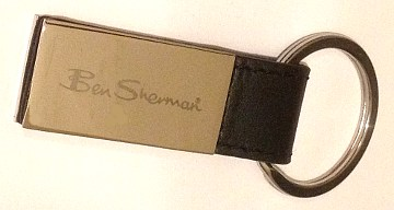 Ben Sherman Large Keyring