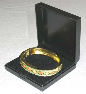 Bangle Box Black Plastic Gift Boxes 82x82x24