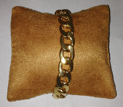 Brown Velour Display Cushion