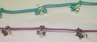 Sterling Silver Color Crystal set Necklace
