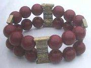 Double Beaded Vintage look Bracelet (Pack of 3)