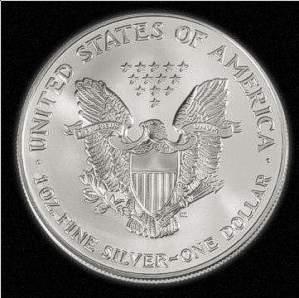 Silver American Eagle Bullion Coins Sae 1oz Fine Silver