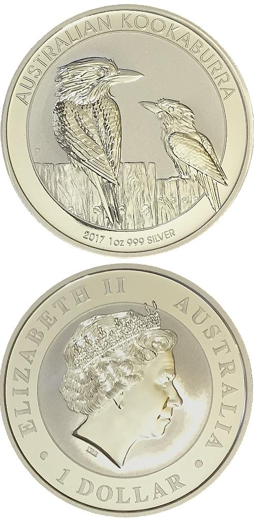KOOKABURRA 2017 1oz 999 Silver Coin Proof Like