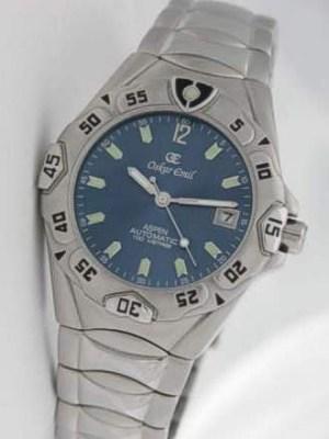 Mens Automatic Aspen Watch Oskar Emil Kinetic Aspen Watch Blue