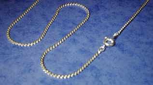 24 inch Silver plated fine Snake Chain