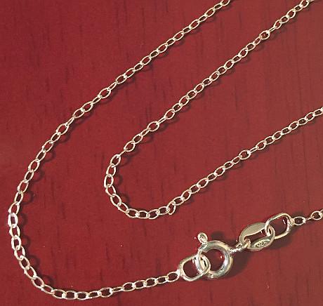 Belcher Fine Sterling Silver Chain 410mm