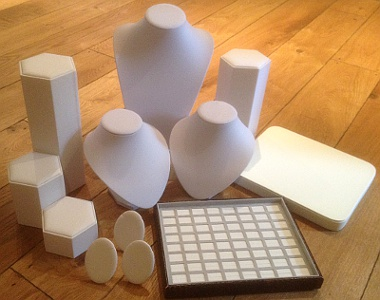 Shop Window Display Package - White/Cream (20 items)