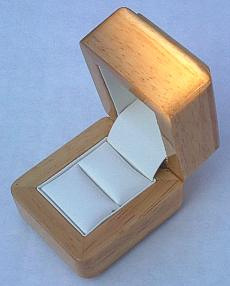Wooden Ring Gift Box