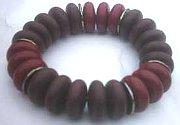 Oval Discs Bead Bracelet (Pack of 3)