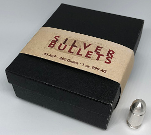 Ammo Box for 1oz Silver Bullets