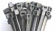 SILVER 370mm x 4.8mm CABLE TIES (Pack 100)