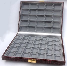 Jewellery Display Case - 60 sections