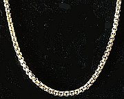 24kt Gold Bonded Box Chain 510mm
