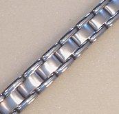 Mens Stainless Steel Magnetic Bracelet