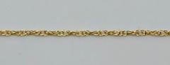 9ct Gold Prince of Wales Fine Chain 460mm x 0.8mm