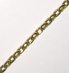 9ct Anchor Belcher Link Chain 510mm
