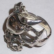 Sterling Silver SCORPION Design Ring