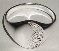 Oval SIGNET RING Sterling Silver Large