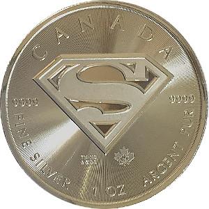 Superman 2016 Canada 1oz 9999 Silver Coin