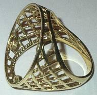 9ct Gold Coin Full Sovereign Ring Mount & Bezel