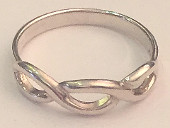 Twist Knot Sterling Silver Ring