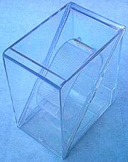 Clear Plastic Watch Display Box