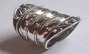 Wide Gothic Sterling Silver Ring