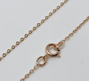 9ct Gold diamond cut Belcher Chain 460mm x 1mm
